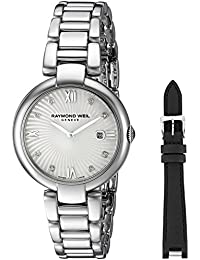 Women's 'Shine' Swiss Quartz Stainless Steel Watch, Color Silver-Toned (Model: 1600-ST-00995)
