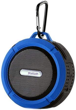 Flushzing C6 Bluetooth Altavoz Impermeable al Aire Libre Caja de Sonido inalámbrico Caja de Sonido Soporte Inserte la TF-Tarjeta: Amazon.es: Hogar