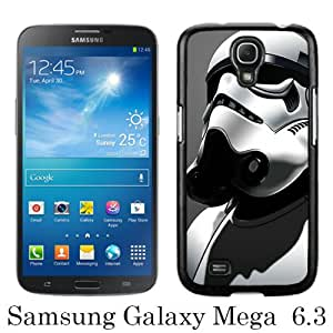 Beautiful And Unique Designed Case For Samsung Galaxy Mega 6.3 I9205 With Star Wars Stormtrooper black Phone Case