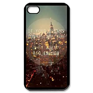 iPhone 4,4S Cell Phone Case , Pure and fresh Theme Custom Phone Case