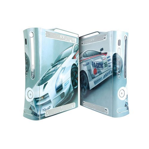 Ridge Racers Xbox 360 Protector Skin Decal Sticker, Item No.BOX0832-01