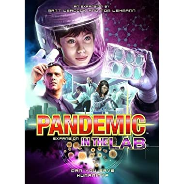 Pandemic: In The Lab Expansion Game