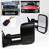 truck accessories 96 chevy - ModifyStreet Extendable Side Towing Mirrors with Power motor for 88-99 Chevy/GMC C/K 1500, 88-00 Chevy/GMC C/K 2500/3500, 92-99 Chevy/GMC Suburban 1500/2500, 95-99 Chevy Tahoe, 92-99 GMC Yukon