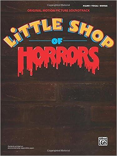 Little Shop of Horrors -- Original Motion Picture Soundtrack: Piano ...