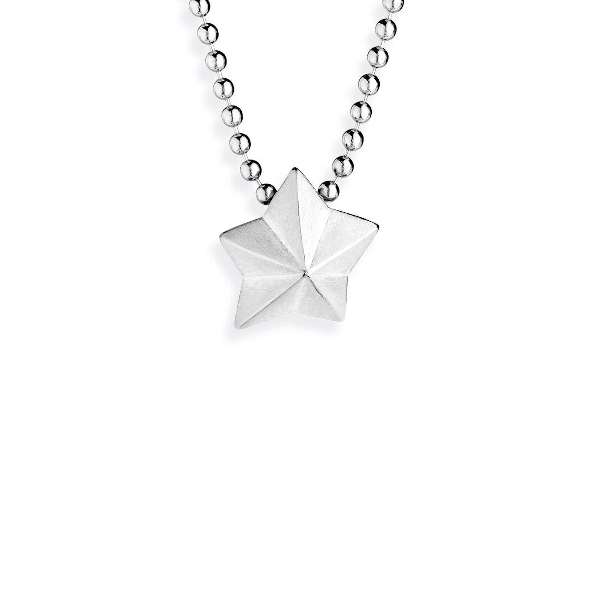 Collection /étoiles Brillantes /& Chapelet Petit Pendentif /étoile en Argent Sterling 925 Drachenfels Design Pendentif /étoile de Dragon en Argent v/éritable