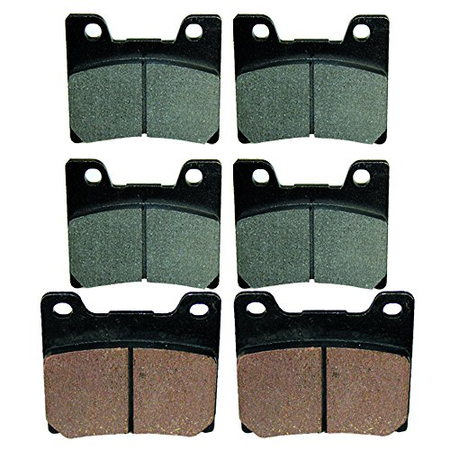 - Caltric FRONT REAR BRAKE PADS Fits YAMAHA YZF600 YZF-600 YZF600R 1995 1996 1998