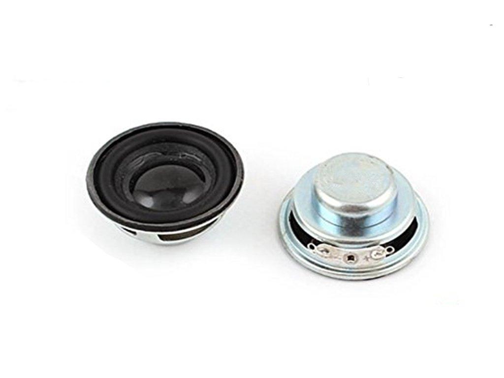 BLS 8Pcs Multimedia 3W 3 Watt 4 Ohm 40mm Dia Aluminum Internal Magnet Speaker