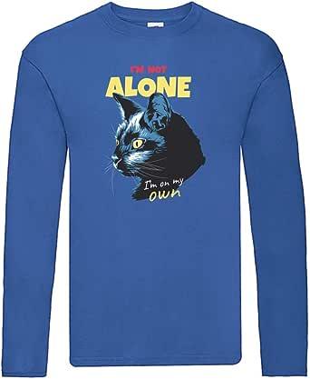 "Camiseta de manga larga con texto en alemán ""Ich Bin nicht Alleine - Camiseta de manga larga unisex para niños y niñas"