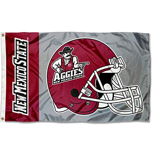 College Flags and Banners Co. New Mexico State Aggies Football Helmet Flag