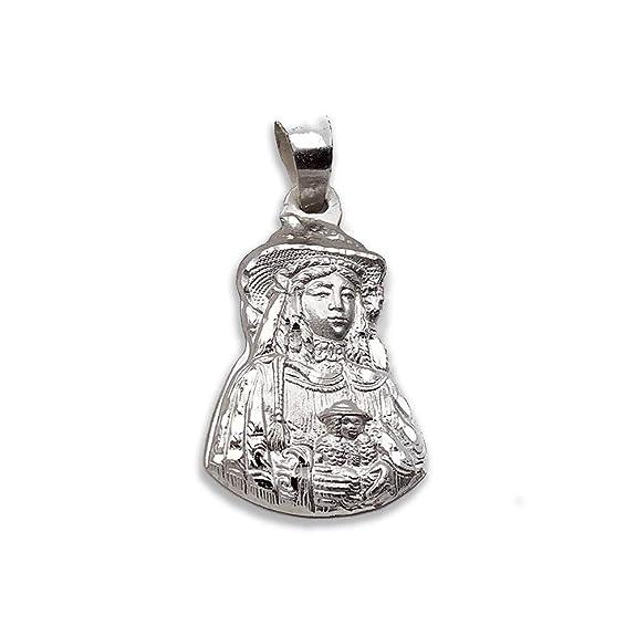 Mealla Religiosa - Medalla Virgen del Rocío Pastora Silueta ...