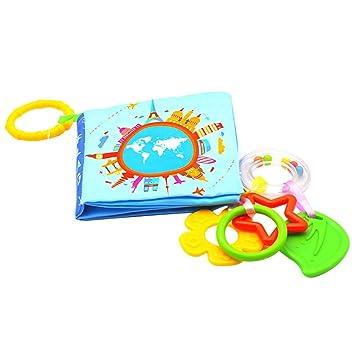 LAAT Libros de Tela para Bebes para Aprendizaje y Educación ...