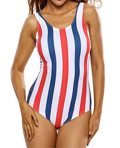 La moda coloreó las rayas verticales imprimió las correas del halter paño a máquina piecemeal para las mujeres A#