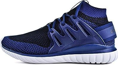 adidas Originals Tubular Azul Nova Primeknit Hombre Trainer Azul Tubular 12 c9a68c