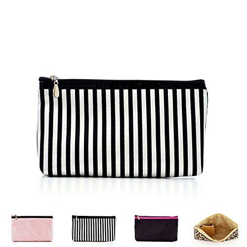 Makeup Storage Bag Zippered Tavel Makeup Bag Cosmetic Organizer Clutch Bag Pouch