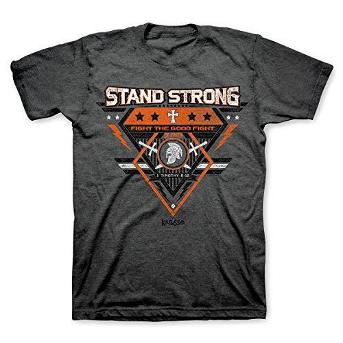 (Stand Strong Christian T-Shirt, XX-Large, Black)