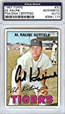 Al Kaline Signed 1967 Topps Trading Card #30 Detroit Tigers - PSA/DNA Authentication - Autographed MLB Baseball Cards
