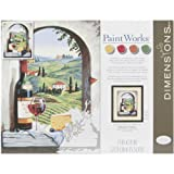 Dimensions Paint by Number Craft Kit, Tuscan View