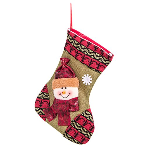 christmas stockings Clearance ♥ gift bag Christmas decorations large high-grade candy socks (B)