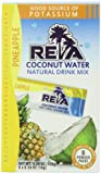 Reva Coconut Water Instant Natural Mix, Pineapple, 8-Count (Pack of 3)