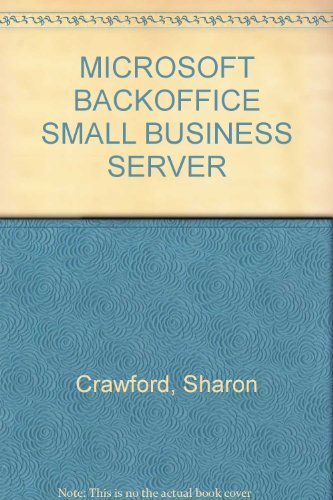 Microsoft Back office small business Server au (Back Office Small Business Server)