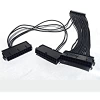 Miner Parts - 24 pin ATX Triple Power Supply 3 PSU Splitter Adapter Cable