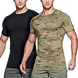 CQR Men's Cool Dry Short Sleeve Tactical