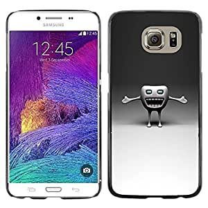 Be Good Phone Accessory // Dura Cáscara cubierta Protectora Caso Carcasa Funda de Protección para Samsung Galaxy S6 SM-G920 // Funny Tooth