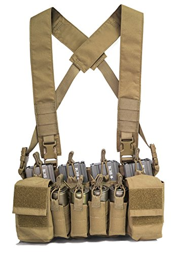 Haley Strategic Partners D3CRX Chest Rig, Coyote Brown
