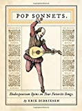 Image of Pop Sonnets: Shakespearean Spins on Your Favorite Songs