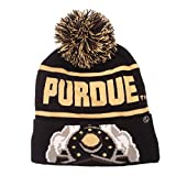 zephyr beanie - NCAA Purdue Boilermakers Men's Bandit Knit Beanie, One Size, Team Color