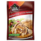 Club House, Dry Sauce/Seasoning/Marinade Mix, Homestyle Gravy, 38g