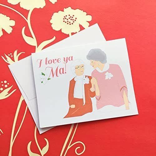 Amazon.com: I Love Ya Ma Mother's Day Card Golden Girls