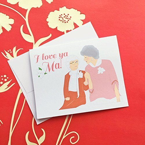 amazon com i love ya ma mother s day card golden girls dorothy and