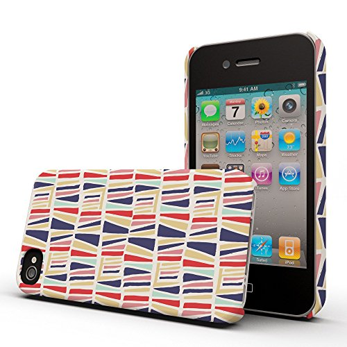 Koveru Back Cover Case for Apple iPhone 4/4S - Abstract on Wall