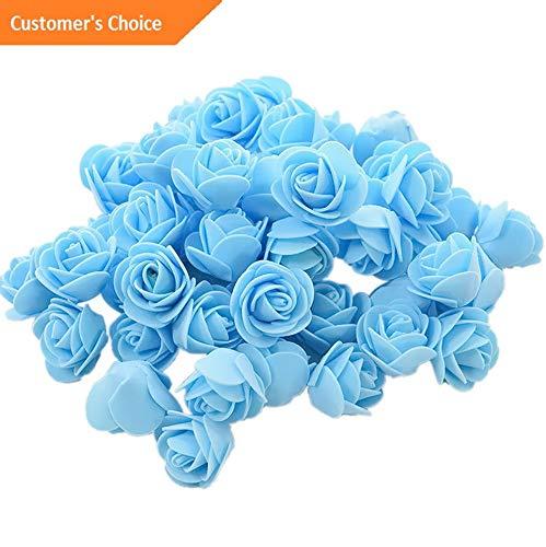 (Hebel 50Pcs 3.5cm Foam Roses Artificial Flower Wedding Bride Bouquet Party Decor Cal   Model ARTFCL - 268  )