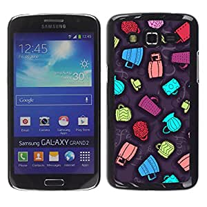 Stuss Case / Funda Carcasa protectora - Different Colored Dancing Cups - Samsung Galaxy Grand 2