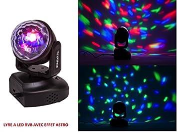 Lira compacta a LED RGB con efecto Astro efectos luminoso ...