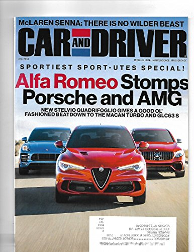 Car & driver Magazine July 2018 -