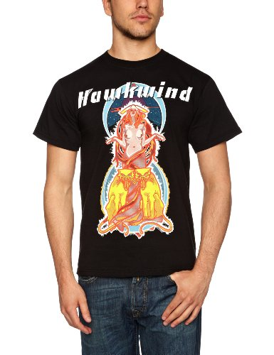 Plastic Head Men's Hawkwind-Space Ritual-T-Shirt