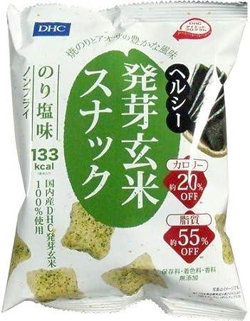 DHCヘルシー発芽玄米スナックのり塩味