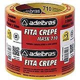 Fita Crepe, Adelbras 0615000009, Multicor, Pacote de 2