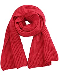 Soft Winter Scarves Warm Knit Scarves for Outdoor Knitted Womens Scarves