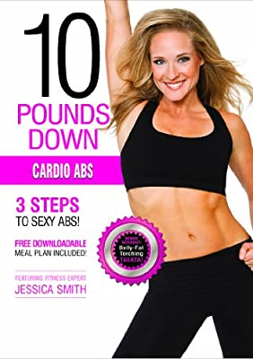 10 Pounds Down: Cardio Abs DVD by In Wellness Systems LLC