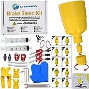 CYCOBYCO Brake Bleed Kit,Bicycle Hydraulic Disc Brake Mineral Oil Bleed Kit for Shimano,SRAM,AVID,MAGURA,TEKTR