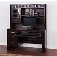 Sunny Designs K2983MT Monterey Desk with Hutch