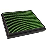 Chevy Malibu / Buick Regal / LaCrosse Reusable & Washable Replacement High Flow Drop-in Air Filter (Green)