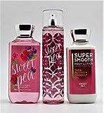 Bath & Body Works Sweet Pea Gift Set   Shower