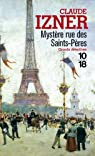 Les Enquêtes de Victor Legris, tome 1 : Mystère rue des Saint-Pères par Izner