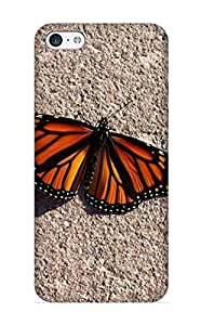 Iphone 4/4s Hard Back With Bumper Silicone Gel Tpu Case Cover For Lover's Gift Animal Butterfly