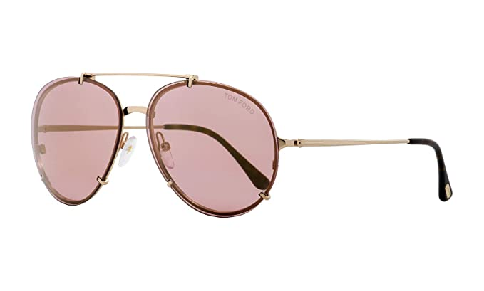 50f30ac010 Image Unavailable. Image not available for. Color  Tom Ford Dickon Aviator  Sunglasses ...
